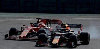 Alexander Albon, Sebastian Vettel, Ferrari, Red Bull, racingline