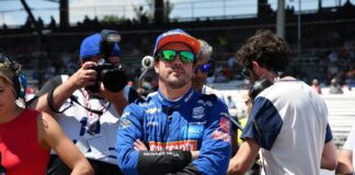 Alonso, McLaren, racingline