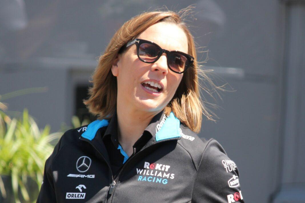 Claire Williams, racingline