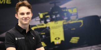 Piastri, Renault, racingline