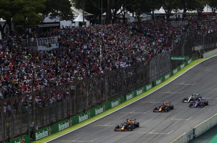 Interlagos, Brazília, F1, racingline
