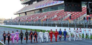 F1 drivers 2020, szezon, versenyzők, teszt