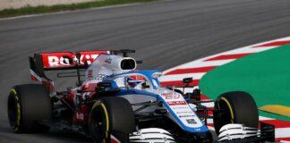 Russell, Williams, racingline
