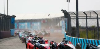 Formula E, racingline