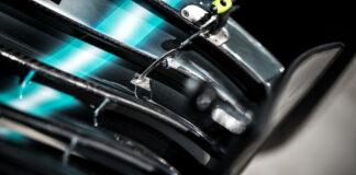 Mercedes wing, puzzle, szélcsatorna