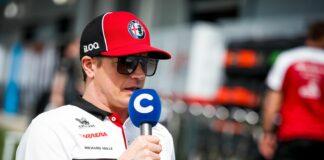 Räikkönen, racingline