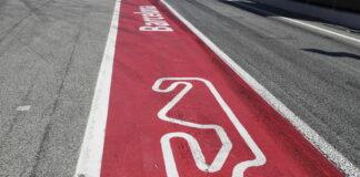 Barcelona, racingline