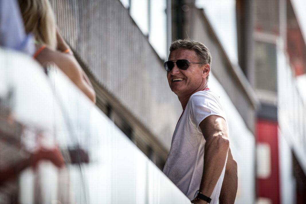 Coulthard, racingline