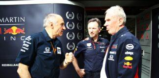 Franz Tost, Christian Horner & Helmut Marko, racingline.hu