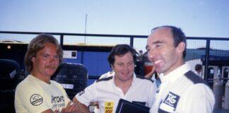 Keke Rosberg, Frank Williams, Patrick Head, racingline.hu