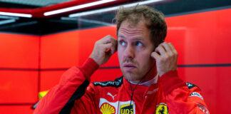 Sebastian Vettel, Ferrari, racingline