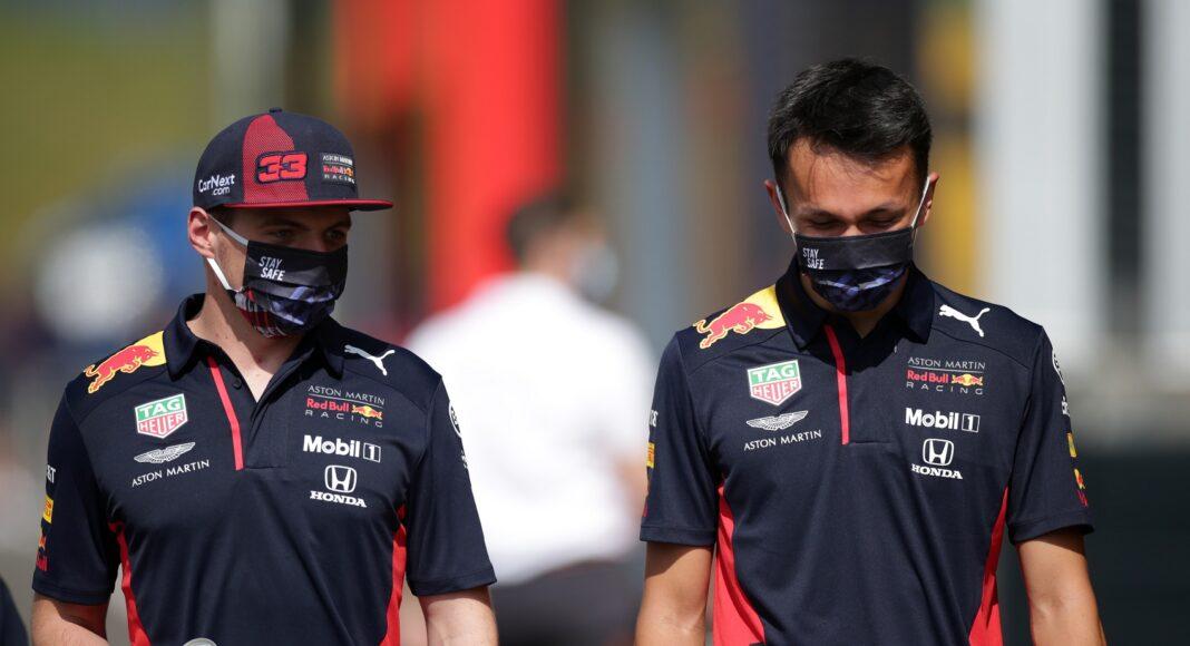 Max Verstappen, Alexander Albon, Red Bull, racingline