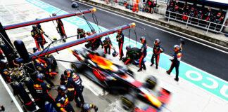 Max Verstappen, Red Bull, kerékcsre, racingline