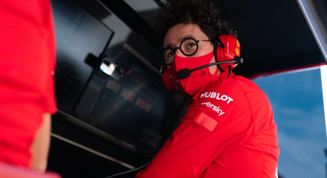 Mattia Binotto, Ferrari, racingline