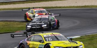 Timo Glock & Lucas Auer, BMW, DTM, racingline.hu