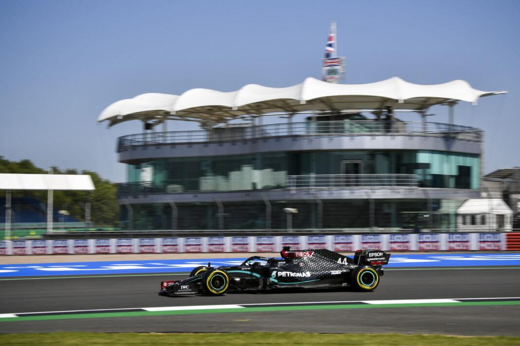 Lewis Hamilton, Silverstone, Brit Nagydíj, 70. évforduló Nagydíja, Egyesült Királyság