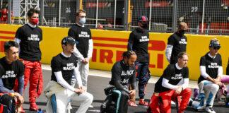 Lewis Hamilton, Take a knee