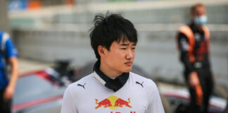 Tsunoda, racingline