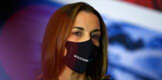 Claire Williams, Williams, racingline
