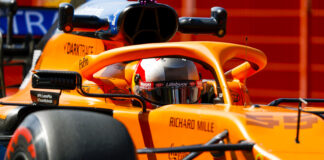 Carlos Sainz, McLaren, racingline