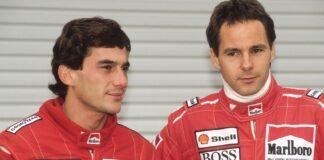 Ayrton Senna, gerhard berger