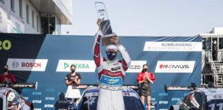 Frijns, DTM, racingline