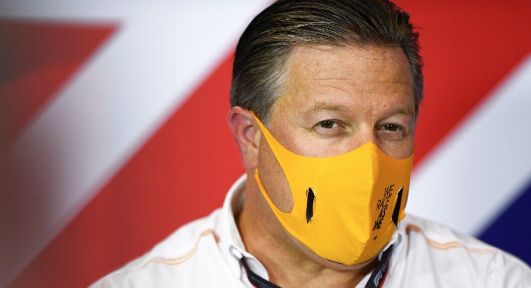 Zak Brown, McLaren, racingline