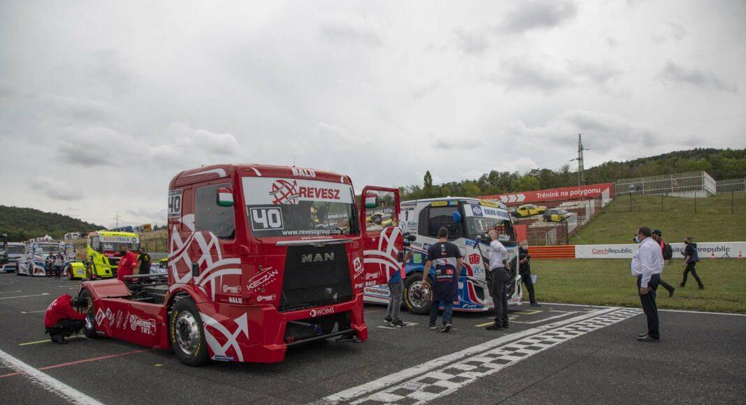 Kiss Norbi, kamion