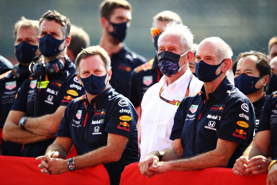 Christian Horner, Helmut Marko, Adrian Newey, Red Bull, racingline