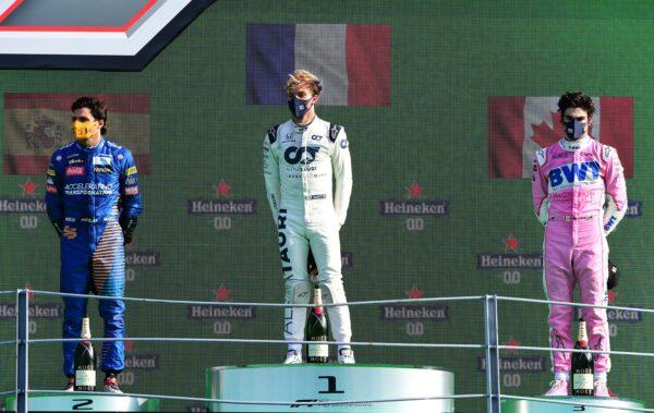Gasly, Sainz, Stroll, Monza, F1