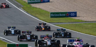 Nico Hülkenberg, Antonio Giovinazzi, Kevin Magnussen, Max Verstappen, Lewis Hamilton, Nicolas Latifi, Sebastian Vettel, racingline, forma-1