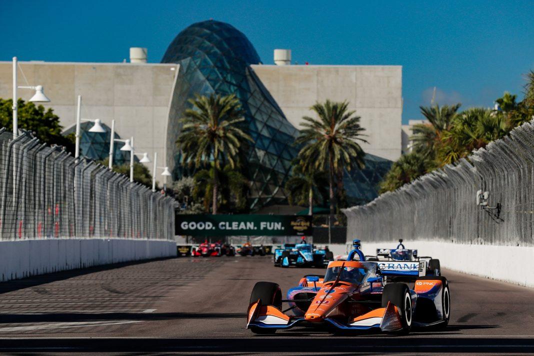 Scott Dixon, Chip Ganassi Racing, IndyCar, St. Petersburg, racingline.hu