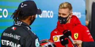 Lewis Hamilton, Mick Schumacher