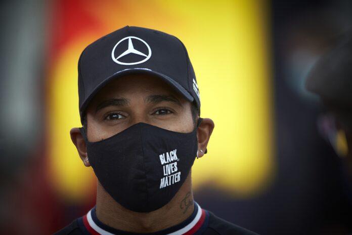 Lewis Hamilton, Mercedes, racingline