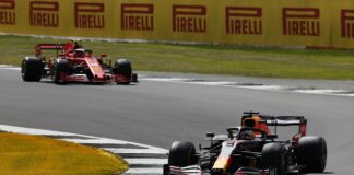 Charles Leclerc, Max Verstappen, Ferrari, Red Bull, racingline