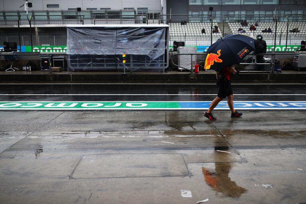 Eifel Nagydíj, eső, pozitív