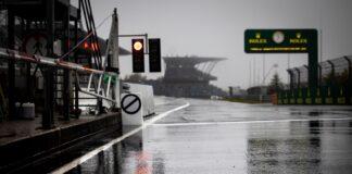 Nürburgring, eső
