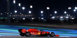 Sebastian Vettel, Ferrari, racingline, kutya