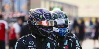 Hamilton, Bottas, racingline