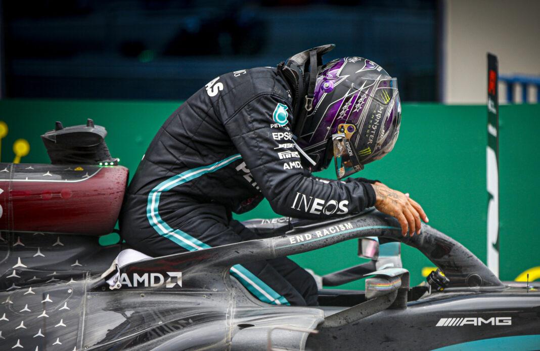 Lewis Hamilton, racingline