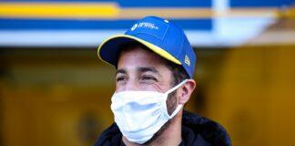 Daniel Ricciardo, Renault, racingline