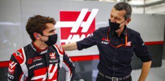 Pietro Fittipaldi & Günther Steiner, Haas, F1, racingline.hu