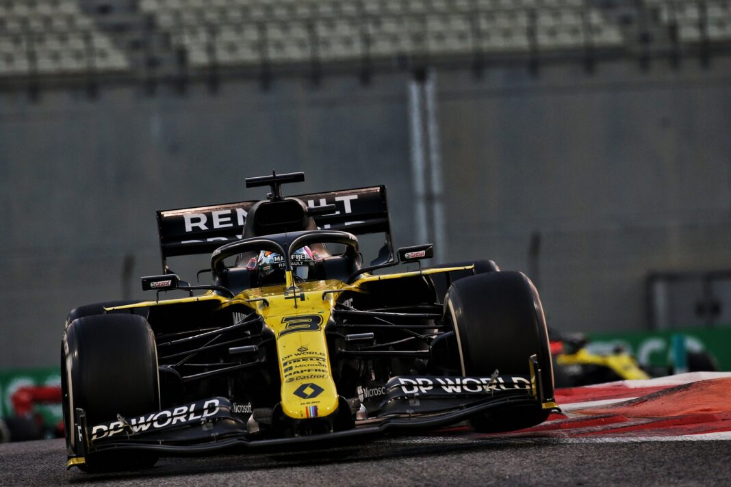 Daniel Ricciardo, Abu Dhabi