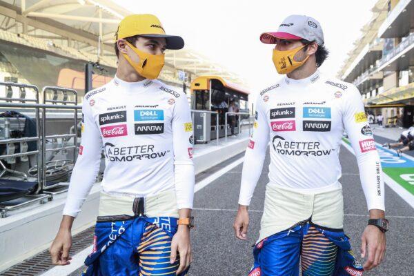 Lando Norris & Carlos Sainz, McLaren