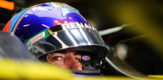 Fernando Alonso, Renault, racingline