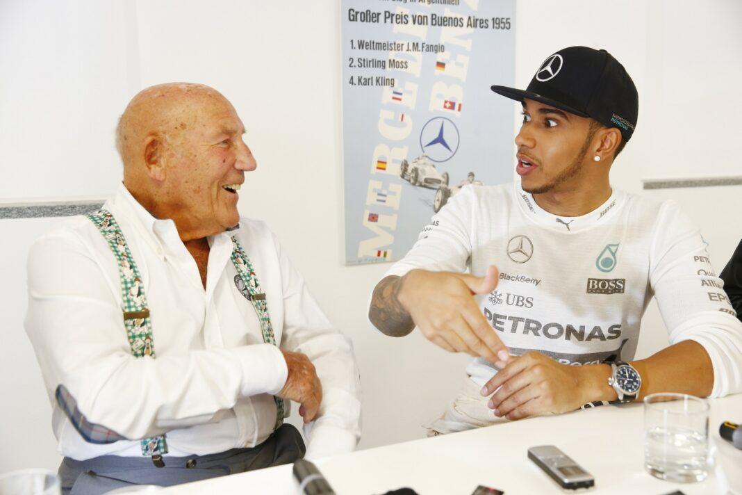Sir Stirling Moss, Lewis Hamilton