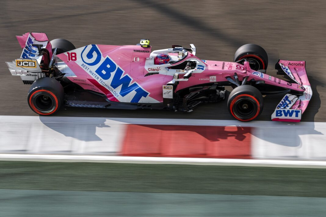 Lance Stroll, BWT, Racing Point, BWT, Aston Martin, Racingline