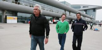 Flavio Briatore, Christian Horner, Mario Theissen