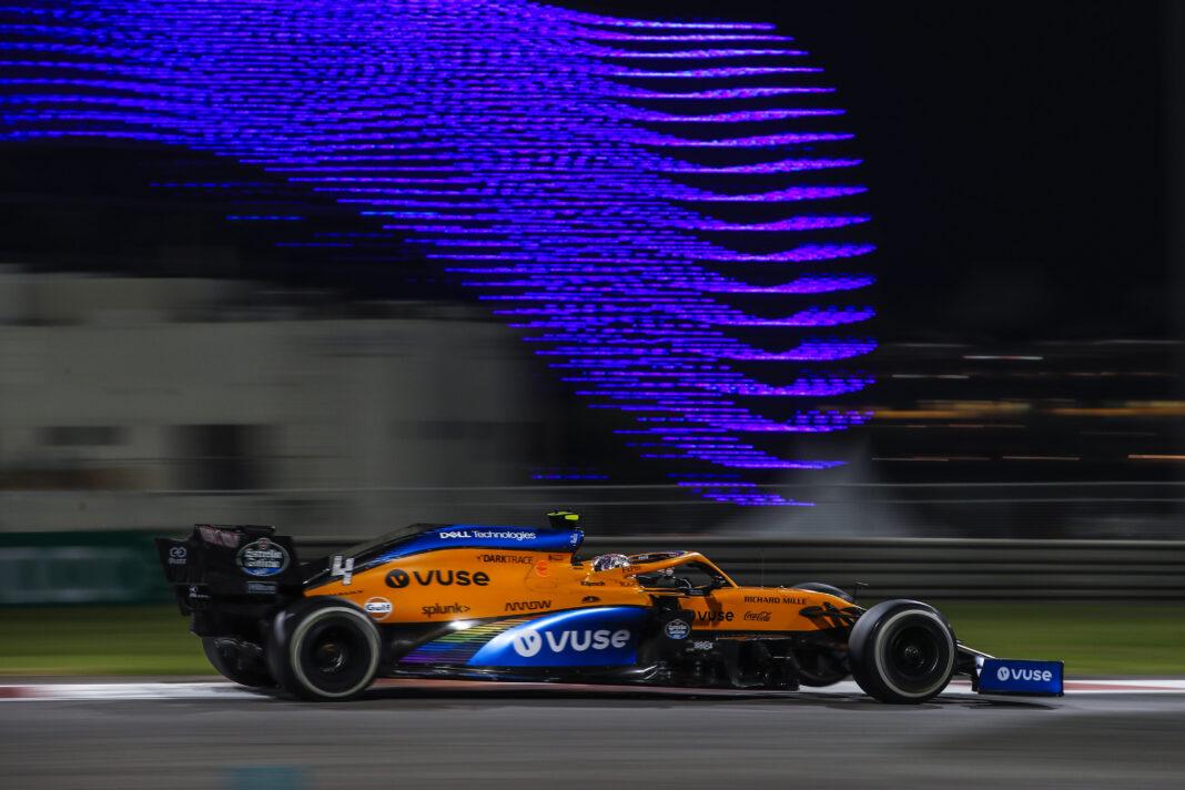 McLaren, racingline