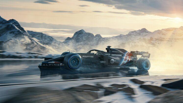 Alpine F1 Winter Livery